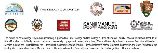 2016 Native Youth to College Supporters