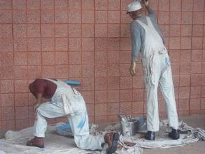 Painter Statues