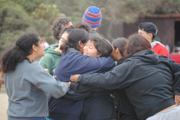 Jenna hugs. Everyone joins in on the love sharing. ^-^