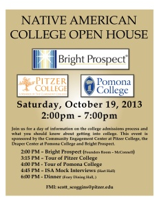 October 19th College Day Flyer